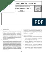 232 Derecho Procesal Civil I