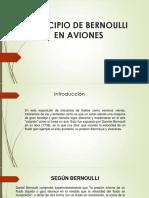 Principio de Bernoulli en Aviones 1