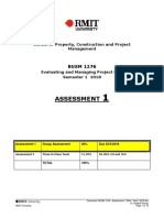 BUSM 1276 - Assessment 1 Brief - Sem1 2018
