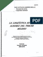 MATERIAL de LECTURA 29. La Lingüistica en Los Albores Del Tercer Milenio (Andrés Romero-F)