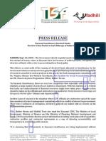 Kasarani Breaks the Law - Press Release