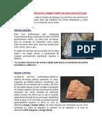 Conocimientos Previos Al Primer Campo de Geologia Aplicada