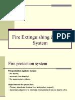 Fire Extinguishing & Alarm System