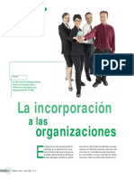 La Incorporación a Las Organizaciones