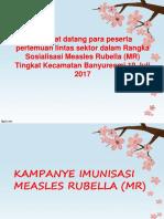Kebijakan Imunisasi  dan MR Jabar 2017 & Juknis.ppt