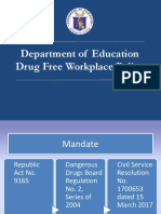Drug Free Work Place