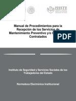 Manual de Procedimientos de Mantenimiento Preventivo ISSSTE