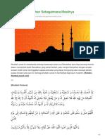 Khotbahjumat.com-Sikapilah Ramadhan Sebagaimana Mestinya