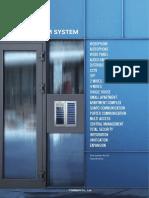 Commax Modum System Catalog