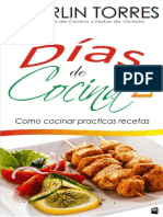 Días de Cocina 2 Como Cocinar Practicas Recetas - Alberlin Torres