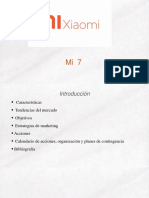 Plan de Marketing. FMKT1 (Xiaomi)