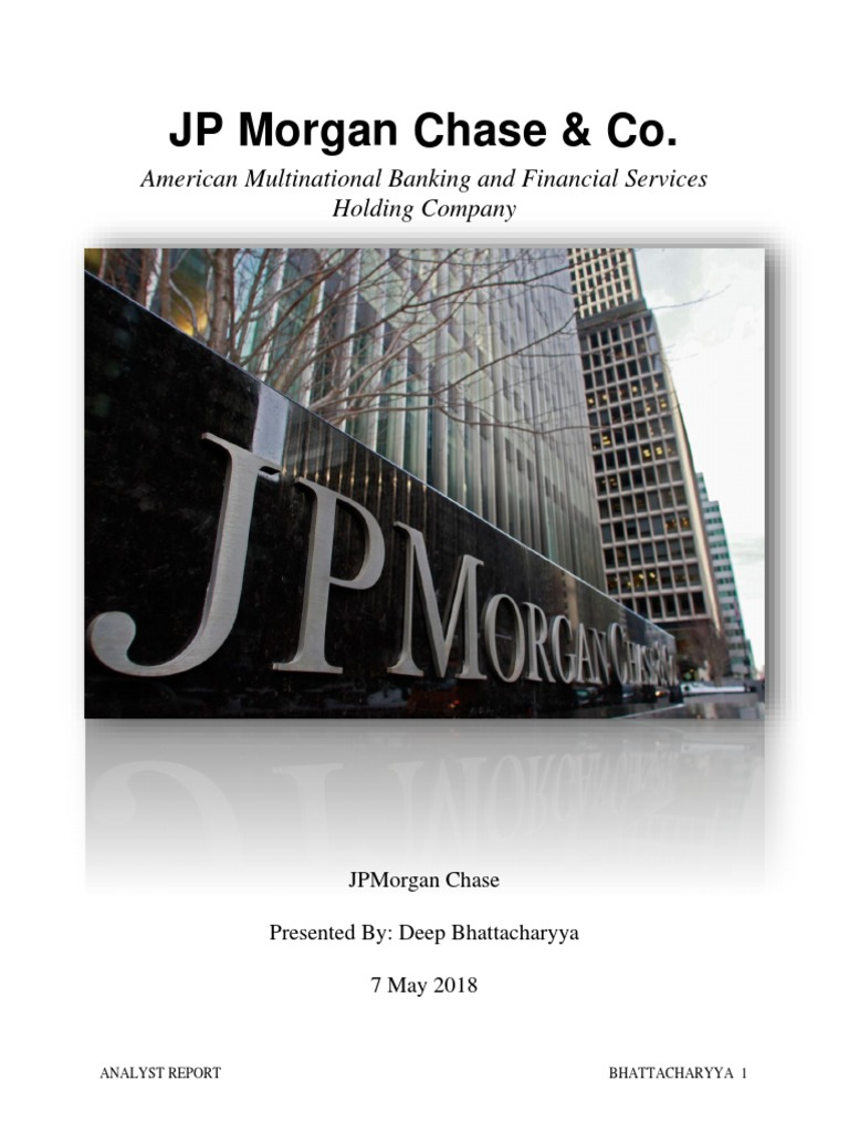 Mont Final Word | Capital Requirement | Jp Morgan Chase