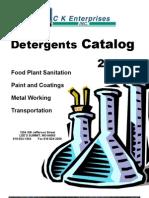 2010 Detergent Catalog