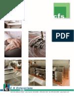 CK Food Service Brochure