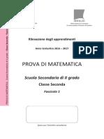 Invalsi Matematica 2016-2017 Secondaria Seconda