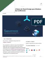 Microsoft Desvela El Futuro de Fluent Design Para Windows 10, Apenas Vas a Notar La Diferencia