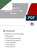 Owo115010 Wcdma Ran13 Ue Behaviors in Idle Mode Issue2