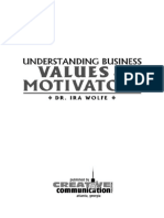 Understanding Business Values & Motivators