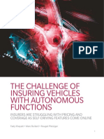 The Challenge of Insuring Vehicles With Autonomous Functions