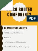 Cisco Router Components
