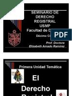 Seminario Derecho Registral Usmp Parte 1 2012 II Docente