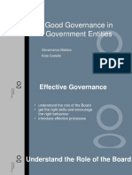 Good Governance in Government Entities Pp1000027