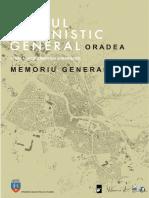 Pug Oradea_memoriu General