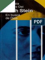 A Matre Dei Theresia - Stein Edith - En Busca de Dios