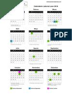 Calendario Laboral Leon 2018