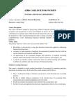 Adv CFR Course Outline