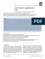Contribution of Sentinel‐2 Data for Applications in Vegetation