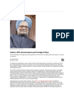 India's UPA Government and Foreign Policy _ the Diplomat