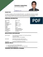 Resume Ivan