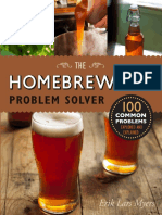 Homebrewer's Problem Solver 100 Common Problems Explored and Explained