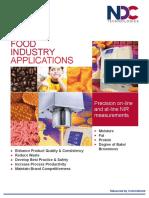 Food Industry Brochure 2015