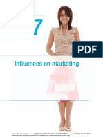 Influences on Marketing