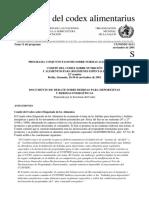 DOCUMENTO DE DEBATE SOBRE BEBIDAS PARA DEPORTISTAS Y BEBIDAS ENERGÉTICAS