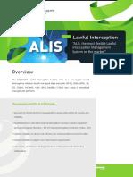 Alis Brochure 2012