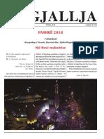 "Gazeta ""Ngjallja"" Prill 2018"