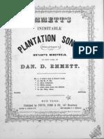 Billy Patterson - Dan Emmett (1860)
