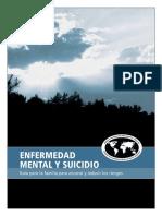8a Clase. Enfermedad Mental y Suicidio Para Poblacion Gral.