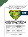 CARATULA  CARPETA 2018