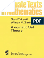Takeuti G., Zaring W.M. Axiomatic Set Theory