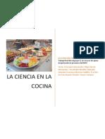 La Ciencia en La Cocina