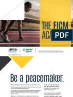 FICM MCN Academy - ADR Education and Training