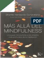 Más Allá Del Mindfulness - Bhante Gunaratana
