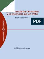 (Estudios Críticos de Literatura) Francisco Vivar-La Numancia de Cervantes y La Memoria de Un Mito -Biblioteca Nueva (2004)
