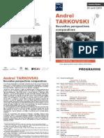 La Theorie Du Kinoobraz Chez Tarkovski e