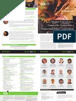 Master Executive Desarrollo Sostenible Responsabilidad Corporativa Online