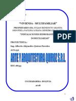 memoria de calculo hidrosanitario JULIAN BENEDICTO ARANDA ORDOÑEZ .doc